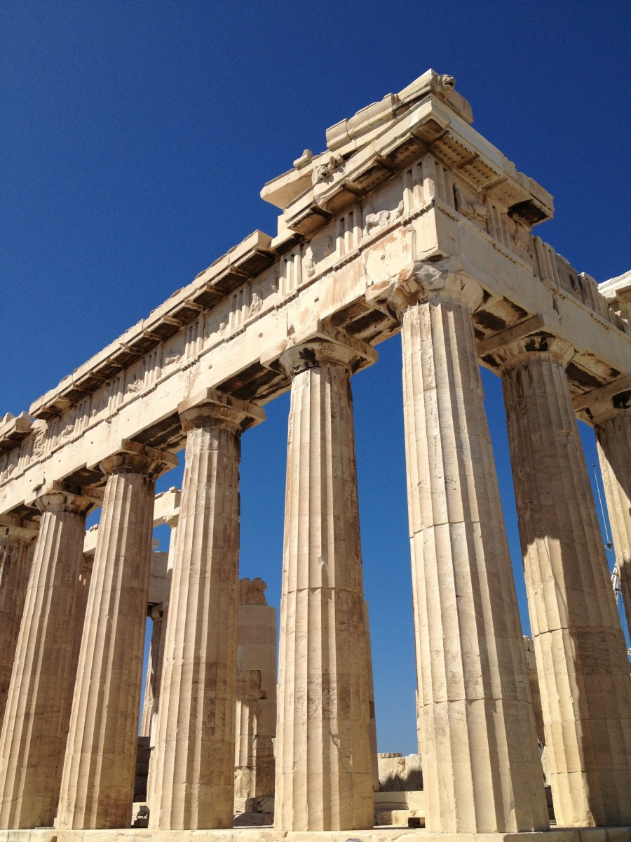 Visit the ancient ruins of Athens, Greece.
