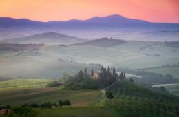 Tuscany Italy farmhouse san quirico d'orcia